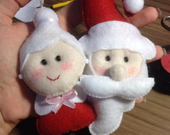 Enfeite para Arvore: Casal Noel