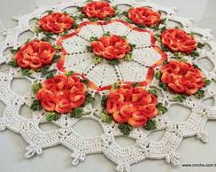 centro de mesa com flores ..