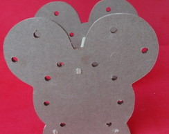 Porta l�pis MDF Mickey ou Minnie MDF cr�