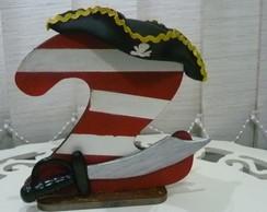 N�mero Personalizado- Pirata