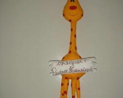Enfeite de porta Girafa