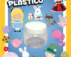 Potinho de Pl�stico - Alice Mini