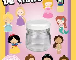 Potinho de Vidro - As Princesas Mini