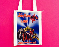 Eco bag personalizada herois