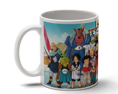 Caneca Dragon Ball Personagens 1