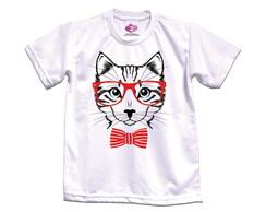 Camiseta Infantil Gato