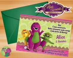 Convite Barney