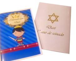 Livro de Colorir Rei Davi com Giz