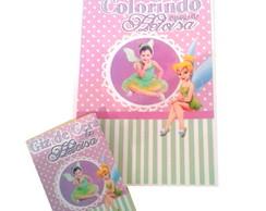 Livro de Colorir com Giz - Tinker Bell