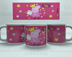 Caneca Pl�stica - Peppa Pig 04