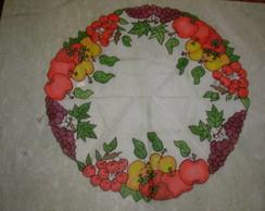 Centro de Mesa em voil Frutas