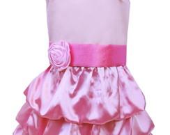 Vestido Balon� rosa