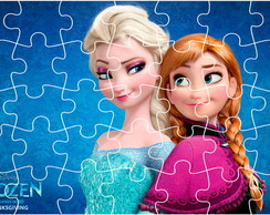Quebra-Cabe�a Personalizado - Frozen