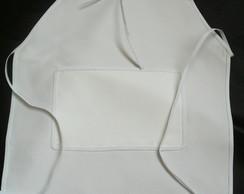 Avental infantil em tecido