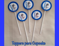 Toppers - Cupcake e Doces