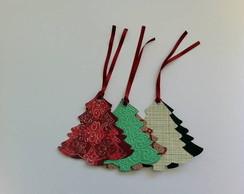Cart�o arvore de Natal / tag