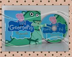 CD ou DVD Personalizado George Pig