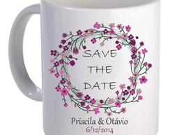 Caneca Personalizada Save the Date