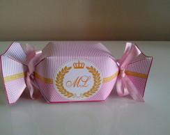 Caixa Bala Princesa/Coroa
