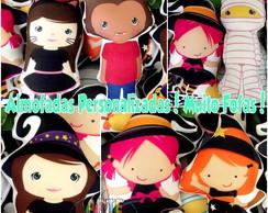 Festa das Bruxinhas e Monstrinhos!! 30cm