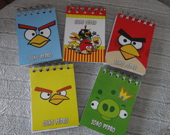 Bloquinho Personalizado Angry Birds