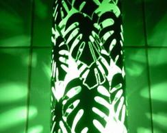 Lumin�ria em PVC Folhagens