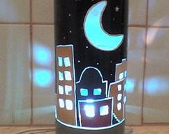 Lumin�ria Em PVC Cidade - Personaliz�vel