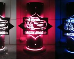 Lumin�ria Em PVC Rel�mpago McQueen