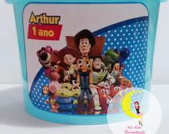 Balde De Pipoca Personalizado Toy Story