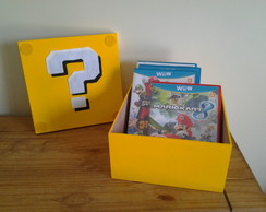 Caixa Super Mario Bros Question Block