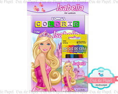 Kit Colorir Pocket - Barbie