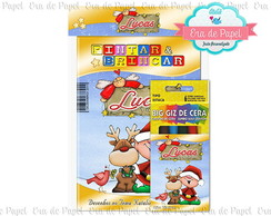 Kit Colorir Pocket - Natal