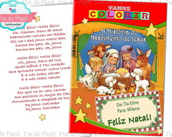 Kit Colorir - Natal