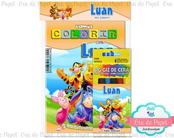 Kit Colorir Pocket - Pooh
