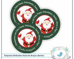 48 Etiquetas Personalizadas Natal