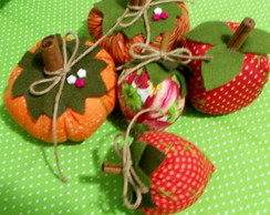 Mini Frutas de patchwork