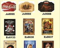 Placa Vintage King de Mdf - 27x39 - Tops