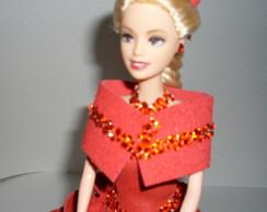 Boneca Com Vestido De Eva -Dama