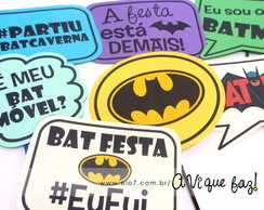 Plaquinhas Divertidas Batman