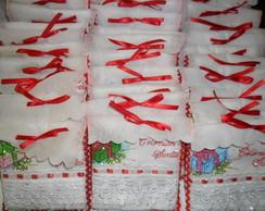 Toalha De Lavabo Presentinho de Natal