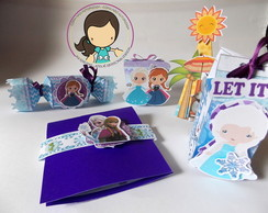 Kit Festa - Tema : Frozen
