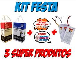 Kit Festa Kit Ressaca Plaquinha e Ora��o