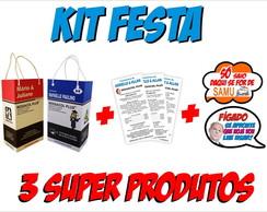 Kit Festa Kit Ressaca Bula e Plaquinha