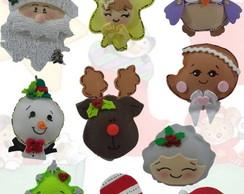 Enfeites de Arvore de Natal