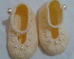 Sapatinhos de Croche para Bebes