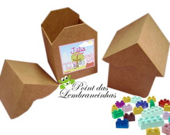 kit casinha com blocos de montar