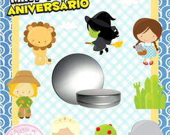 Latinha Anivers�rio M�gico de OZ Mini