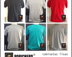 Camiseta Lisa - 100% algod�o