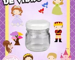 Potinho de Vidro - Princesa Sofia Mini