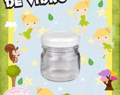 Potinho de Vidro TinkerBell Sininho Mini